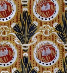 Floral design. Arts and Crafts/William Morris Museum 1880s
