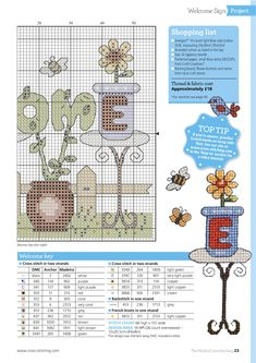 Garden Greetings From The World of Cross Stitching N°245 September 2016 4 of 4