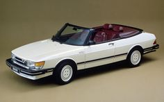 Saab 900 turbo convertible, one of the most beautiful cars ever made.