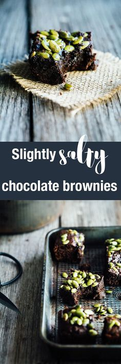 Chocolatey, fudgy, rich and utterly delicious, these slightly salty vegan chocolate brownies are made possible by a sneaky, hidden ingredient.