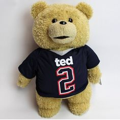 """'Ted 2' Movie Jersey Football Top Soft Plush Toy 18"""""""