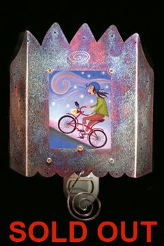Bicycle Ride - SOLD OUT - Luminette / Art Night Light