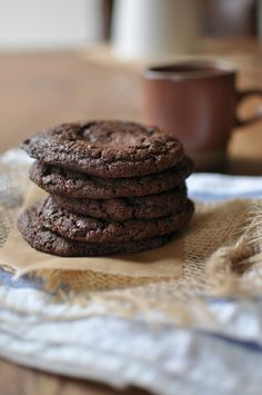 Blue Bottle's Double Chocolate Cookies
