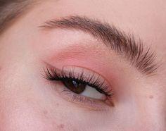 Soft Pink Winged Eyeliner Makeup