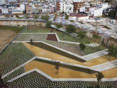 New Barrio de la Música Park by Costa Fierros Architectos
