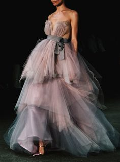 ethereal gown by Christian Siriano S/S 2013