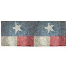 Texas state flag vintage retro style wallet  #Texas #state #flag #retro, USA, #texasflag #texasstateflag #american #america #vintage #lonestarflag, #texan #retrostyle #Texanflag