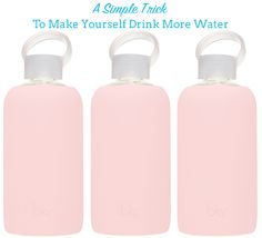 Healthy Habits: How to Make Yourself Drink More Water. I kind of do this already but start lagging as the day goes on. Think this article will help me with that!