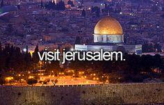 Visit Jerusalem.