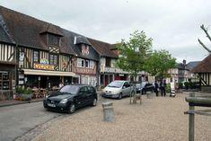 Beuvron-en-Auge: Normandische gezelligheid ** | Dorpen in Frankrijk Street View, Normandie, Eyes