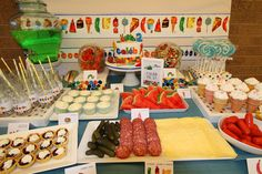 The Very Hungry Caterpillar Birthday Party Ideas | Photo 13 of 18