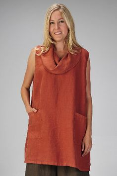 02bb8af950 Match Point women s clothing. Sleeveless Cowl Neck Tunic. View online at  www.flaxgirl