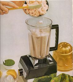 Prawn Smoothies, Yum!    Add capers for that special touch...made in the Fish-O- Matic!!!