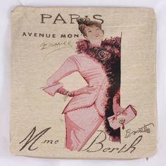Dekorační povlak na polštář Paris, růžová Cover, Books, Libros, Book, Book Illustrations, Libri
