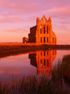 Whitby Abbey Yorkshire England, North Yorkshire, Whitby Abbey, Cathedrals, Castles, Monument Valley, Sweet, Nature, Travel