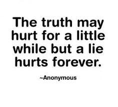 truth may hurt smart-sayings