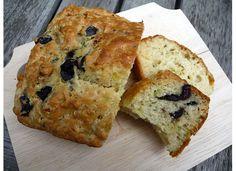 Kalamata Olive Bread with Oregano