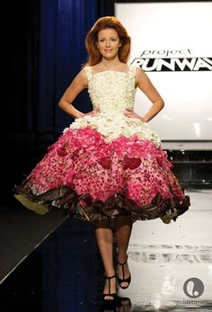 Gray Skies: Project Runway unconventional materials challenge