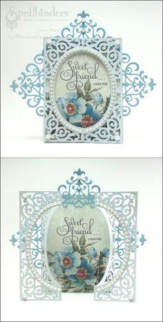 View Blog Post | Spellbinders - Sweet Friend Card