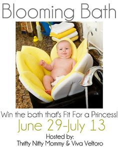 Blooming Bath #Giveaway!