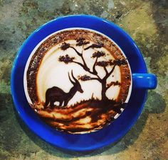 The world of coffee bars changed forever the day the first bored, over-caffeinated and over qualified barista doodled a foam swirl on top of a double cappuccino.