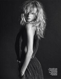 """ (via Natasha Poly In 'Darling' Lensed By Mario Sorrenti For Vogue Paris March 2014 - 3 Sensual Fashion Editorials Vogue Fashion, Look Fashion, Trendy Fashion, Fashion Models, Fashion Beauty, Fashion Design, Fashion Black, Paris Fashion, Natasha Poly"
