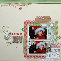Bundle of Joy by Melanie Blackburn via Jillibean Soup Blog