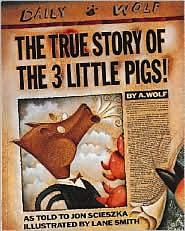 The Paperback of the The True Story of the Three Little Pigs / La verdadera historia de los tres cerditos! by Jon Scieszka, Lane Smith Books For Boys, Childrens Books, Kid Books, Story Books, Library Books, Baby Books, Class Library, Future Library, Dream Library