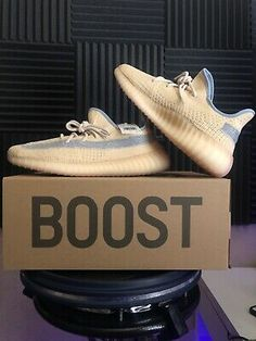 Yeezy Boost 350 Linen Men's Authentic DS. 350 V2, Yeezy Boost, Ds, Men's Shoes, Adidas Sneakers, Link, Clothing, Accessories, Ebay