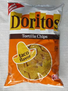 A favorite SNACK FOOD from childhood  ? -- Doritos. This magical food was at every party in the 70s and 80s .