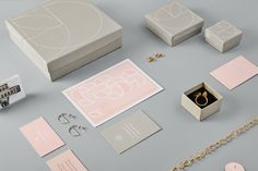 Sarah Straussberg branding by Stevie Wilcox Meaningful Gifts, Contemporary Jewellery, Visual Identity, All Design, Handcrafted Jewelry, How To Memorize Things, Fine Jewelry, Branding, Somerset
