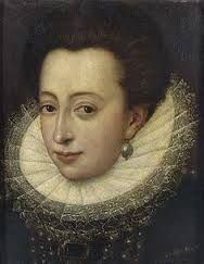 Claude of Valois, daughter of Catherine de Medici and Henry II of France, marries Charles III, Duke de Lorraine.
