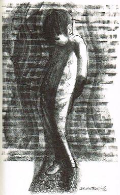 Somerset Maugham, Of Human Bondage, Heinemann/Heron Books, illustration by Charles Keeping White Pen, Black And White, Somerset Maugham, Yarn Painting, Artist Pens, Heron, Illustrator, Victorian, Ink