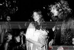 Robert Plant of Led Zeppelin with Carly Simon