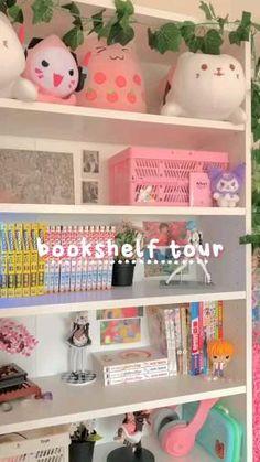 Craft Room Decor, Study Room Decor, Room Design Bedroom, Room Ideas Bedroom, Otaku Room, Cute Room Ideas, Kawaii Room, Gamer Room, Aesthetic Bedroom