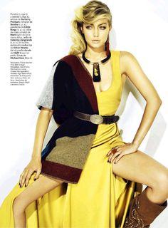 se busca: gigi hadid by henrique gendre for s moda 4th october 2014