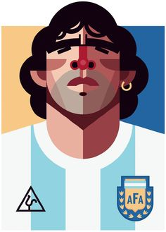 """The Hand of God, and Other Soccer...Miracles?"" Chapter 7. I liked this image of Maradona because he is portrayed like an idol or something you would worship, which he was to some people. This chapter discussed whether the Maradona goal was a miracle or not. When it comes to miracles, are they caused by skill, or is there some help from the divine? Or are things deterministic or indeterministic? Personally, I believe Maradona's goal was one of skill and good timing."