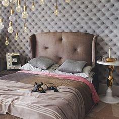 Grey velvet hotel-style bedroom | Bedroom decorating ideas | housetohome.co.uk
