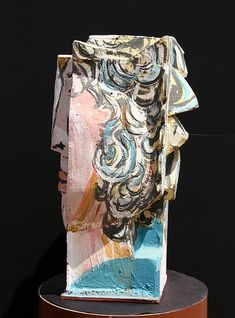 In the Style of Pablo Picasso, Cubist Face, Terrac - by RoGallery