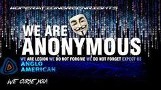 Οι Anonymous επιτίθενται στον μεγαλύτερο παραγωγό πλατίνας 'Anglo American'  - Οι Anonymous πραγματοποίησαν επίθεση hacking στην Anglo American και απέσπασαν την πλήρη ηλεκτρονική βάση δεδομένων τους. Τα δεδομένα περιείχαν τα προσωπικά στοιχεία... - http://www.secnews.gr/archives/59266