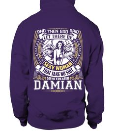 # CREATED DAMIAN  .  CREATED DAMIAN   A GIFT FOR A SPECIAL PERSON   It's a unique tshirt, with a special name!   HOW TO ORDER:  1. Select the style and color you want:  2. Click Reserve it now  3. Select size and quantity  4. Enter shipping and billing information  5. Done! Simple as that!  TIPS: Buy 2 or more to save shipping cost!   This is printable if you purchase only one piece. so dont worry, you will get yours.   Guaranteed safe and secure checkout via:  Paypal | VISA | MASTERCARD