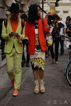 Fashion Street - Milan SpringSummer 15