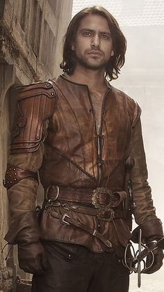 The Musketeers - New series II profiles via BBCOne: D'Artagnan