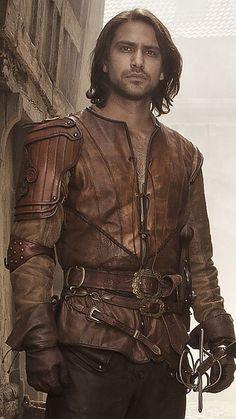 The Musketeers - New series II profiles via BBCOne: D'Artagnan