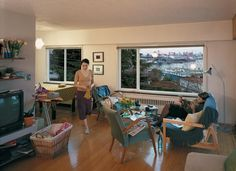 Jeff Wall, A View From An Apartment, 2004-05
