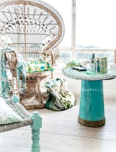 23 Beautiful Boho Sunroom Design Ideas | DigsDigs