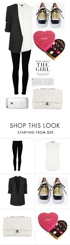 """""""St. Valentines day (man)"""" by m-gorodetskaya ❤ liked on Polyvore featuring Vero Moda, Armani Jeans, Helmut Lang, Jeffrey Campbell, Chanel and Kershaw"""