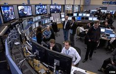 CERN - The Large Hadron Collider (LHC) main control room is based in Geneva