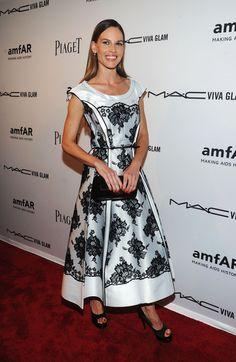 Hilary Swank Photos: 3rd Annual amfAR Inspiration Gala New York - Arrivals