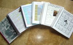 Free downloadable homeschool planning pages